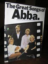 Q300_The Great Songs of ABBA - 10 Spartiti delle canzoni più famose