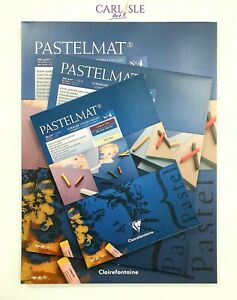 Pastelmat 12 Sheet Pad 360gsm - No.4 Mixed Colours - Choose Your Size