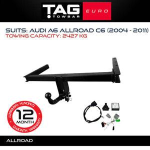 TAG Euro Towbar Fits Audi A6 Allroad 2004 - 2011 Towing Capacity 2427Kg 4x4 4WD