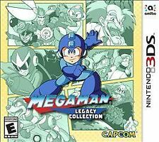 Mega Man Legacy Collection (Nintendo 3DS) Complete