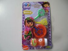 Dora Explorer Adventure Wand & Bubbles (Brand New Sealed)
