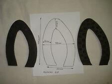 2 bandes crantées  Morvan 2P pour sabots de bois