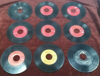 Rare Lot of 9 Elvis Presley 45 Vinyl EP Listed VG+