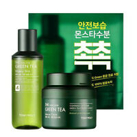 [TONYMOLY] The Chok Chok Green Tea Intense Cream Set (Cream&Skin) - 100ml, 130ml