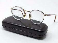 Wilshire Designs Eyeglass Frames Wd1223 Gold Tortoise Full Rim Round 48[]19-135