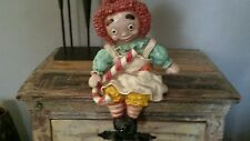 Vintage Raggedy Ann 1969 book end, # 042