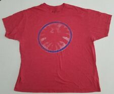 Marvel Comic Avengers 50/50 Blend Red Heather Ultra Soft Men's T-Shirt XXL Z6