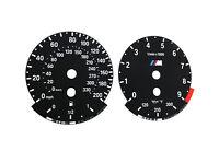 BMW M3 E90, E92, E93 - OEM Speedometer dials MPH Gauges