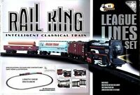 104 cm Rail King Intelligent Classical Train Track Set for Kids Toy