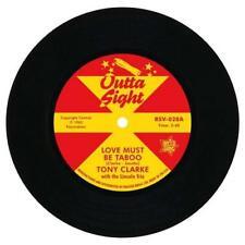 """Love Must Be a Taboo 5013993961253 by Tony Clarke Vinyl 7"""" Single"""