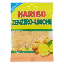 Caramelle gommose Haribo zenzero limone 175gr x5