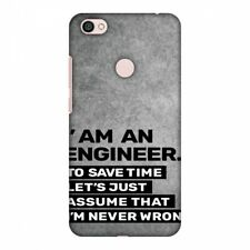Proud To Be an Engineer 3 HARD Protector Case Snap On Slim Phone Cover Accessory