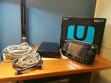 Nintendo Wii U Deluxe 32GB Console - Black New Analog Sticks Installed