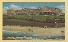 Postcard Massachusetts Cape Cod Falmouth Cape Codder Hotel Resort 1940s NrMINT