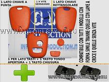 MANDO NARANJA E INTERRUPTORES PARA LLAVE CONTROL REMOTO PEUGEOT 206 107 207 307