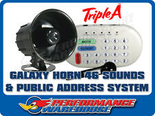 GALAXY HORN - 46 SOUND EFFECTS & PUBLIC ADDRESS SYSTEM – SONGS SIRENS ANIMALS