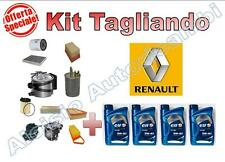 KIT TAGLIANDO RENAULT CLIO III 1.2 16V 2005 -> OLIO ELF EVOLUTION 5W40 + FILTRI