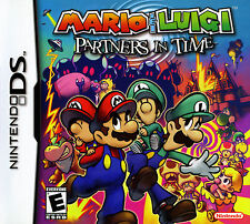 Mario & Luigi Partners in Time Nintendo DS Lite DSi XL w/Case, Manual & Inserts