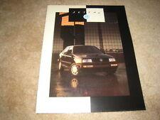 1993 1994 Volkswagen Jetta III GL GLS sales brochure dealer literature