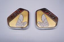 HONDA CB750 SANDCAST K0 KO CB 750 1969 70 SOHC THE BEST! GOLD SIDE COVER EMBLEMS