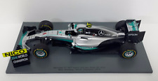 SPARK 1/18 F1 MERCEDES W07 NICO ROSBERG GP ABU DHABI 2016 WARRIORS OF THE WORLD
