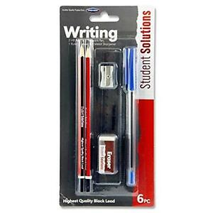 Student Solutions 6 Piece Stationery Set