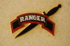 US USA Army Ranger Military Hat Lapel Pin