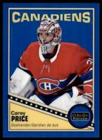 2019-20 OPC Platinum Retro Rainbow Blue #R-25 Carey Price /149