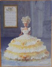 Annie Attic 1997 Royal Ballgowns Barbie Fashion April Crochet Bed Doll Pattern