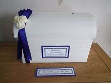 Personalised Card Post Chest Box Wishing Well for Weddings Engagements Birthdays
