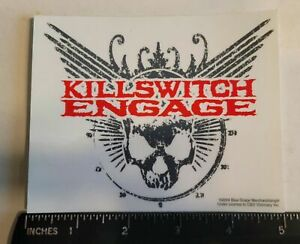 Killswitch Engage Sticker Transparent Metalcore Metal Hardcore Band Rock 2004
