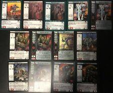 13 BATTLETECH CCG INNER SPHERE MECH CARDS FROM MULTIPLE SETS INCL. COMMANDER'S!