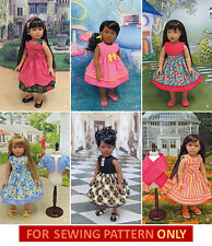 SEWING PATTERN! MAKE DOLL CLOTHES! FIT AMERICAN GIRL MOLLY~KIT! FORTIES~FIFTIES