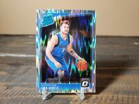 Luka Doncic 2018-19 Donruss Optic Shock Prizm #177 - RC - Mavericks - Rare Hot