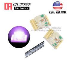100PCS 0805 (2012) Purple/UV Light SMD SMT LED Diodes Emitting Ultra violet USA