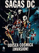 Cómic. Novela Gráfica. Sagas DC. Odisea Cósmica / ¡Invasión!