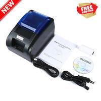 58mm Stampante Termica per Ricevute 70mm/s USB Negozi Ristorante Thermal Printer