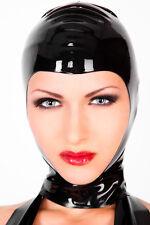 Latex Maske für SIE und IHN von LATEXA - gesichtsoffen - SCHWARZ