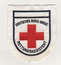 Uniform Aufnäher Patches DEUTSCHES ROTES KREUZ RETTUNGSASSISTENT