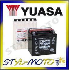 YTX14-BS BATTERIA ORIGINALE YUASA CON ACIDO VESPA GTS 300 SUPER 2010