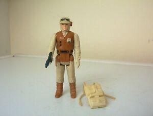 vintage star wars figure Rebel Soldier [Hoth battlegear] with original weapon.