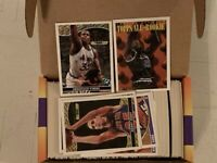 1993-94 Topps Basketball Complete Factory Set 396 Cards W/10 Topps Gold SHAQ
