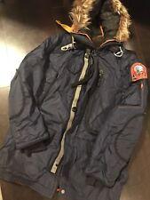 Parajumpers Men Kodiak Winter Jacket Navy Marine Size Large