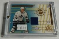 MATS SUNDIN - 2002 PACIFIC ADRENALINE - GAME USED JERSEY - MAPLE LEAFS -