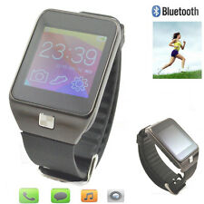 Bluetooth Smart Watch Wristwatch Phone With Camera Touch Screen For Android