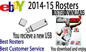 College Hoops 2K8 2014-15 Basketball Rosters PS3 Memory Card