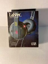 Labtec Lt125 Headphones Over Ear Vintage Tested Compact Disc Digital Audio