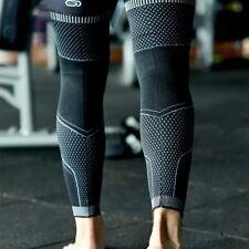 2PCS Leg Warmers 3D Knitting Weaving Long Compression Leg Sleeve Cycling