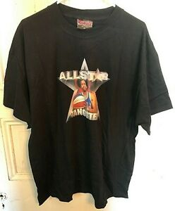 Vtg. Hot House 2001 Sixers Allen Iverson All Star Gangster T Shirt Mens XL NEW