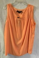 NEW JONES NEW YORK COLLECTION SHERBERT CHIFFON CAMISOLE Tank Top Wmns Sz 12